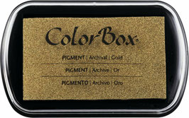 ColorBox Pigment Ink, Metallic Gold - Clearsnap