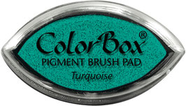 ColorBox Pigment Ink Cat's Eye, Turquoise - Clearsnap