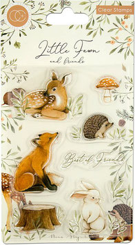 "Clearstampset ""Little Fawn & Friends - Best Friends"" - Craft Consortium"