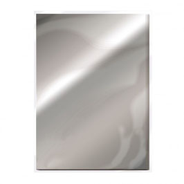 Chrome Silver Gloss Mirror Card - Tonic Studios