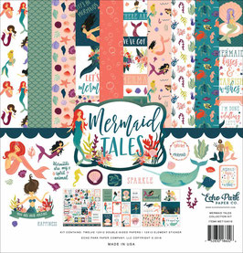 Mermaid Tales 12x12 Collection Kit  - Echo Park