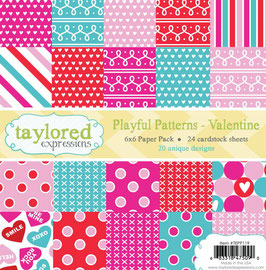 Playful Patterns, Valentine - Taylored Expressions