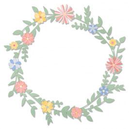 "Thinlits Die Set ""Spring Foliage"" - Sizzix"