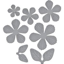 Textured Flowers - Spellbinders