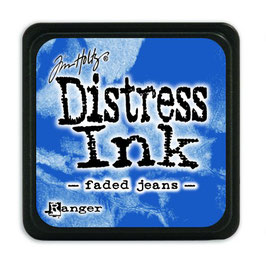 Tim Holtz Distress Mini Ink - Faded Jeans