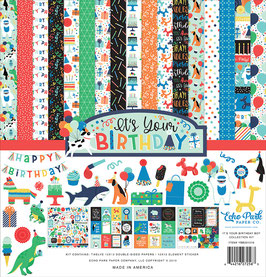 It's Your Birthday Boy 12x12 Collection Kit  - Echo Park