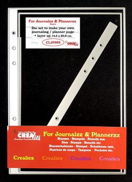 """Stanzschablone """"Journalzz - Journaling / Planner Page"""" - Crealies"""