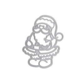 "Stanzschablone ""Rococo Jolly Santa"" - Tonic Studios"