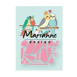 "Collectables ""Eline's Birds"" - Marianne Design"