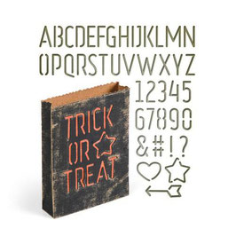 "Thinlits Die Set ""Treat Bag"" - Sizzix"