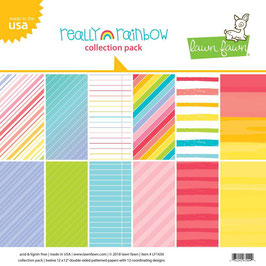 Really Rainbow 12x12 Collection Pack - Lawn Fawn