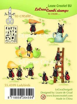"Clearstamp ""Ladybugs"" - LeCrea"