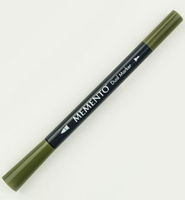Memento Dual Tip Marker - Olive Grove