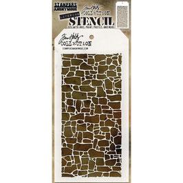 """Layered Stencil """"Stone"""" - Tim Holtz"""