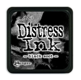 Tim Holtz Distress Mini Ink - Black Soot