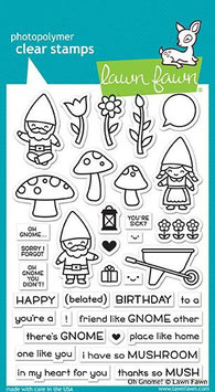 """Clearstampset """"Oh Gnome!"""" - Lawn Fawn"""