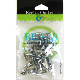 "Brads ""Silver 8mm"" - Eyelet Outlet"