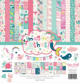 Imagine That Girl 12x12 Collection Kit  - Echo Park