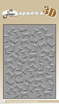 """3D Prägeschablone """"Controller"""" - By Lene"""