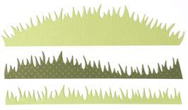 "Stanzschablone ""Gras"" - Impronte D'Autore"