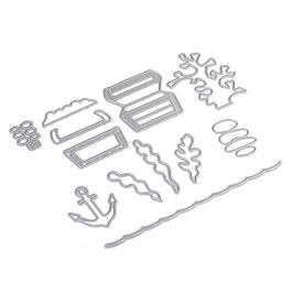 """Stanzschablone """"Sea Weed"""" - Elizabeth Craft Designs"""