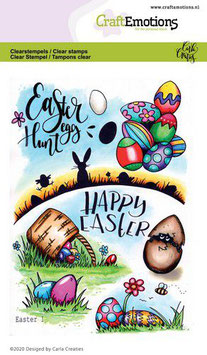 "Clearstamp ""Easter #1"" - CraftEmotions"