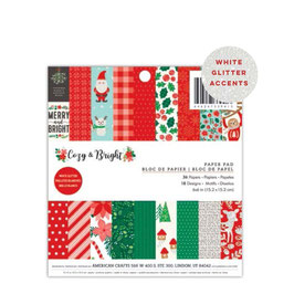 Cozy & Bright 6x6 Paperpad - Pebbles