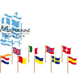 """Creatable """"Flags"""" - Marianne Design"""