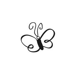 """Mini-Holzstempel """"Schmetterling"""""""