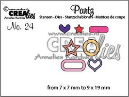 "Partz No.24 ""Labels & Tags add ons"" - Crealies"