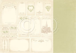 Vintage Wedding, Tags - Pion Design