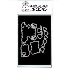 """Stanzschablone """"Valentine Cats"""" - Gerda Steiner Designs"""