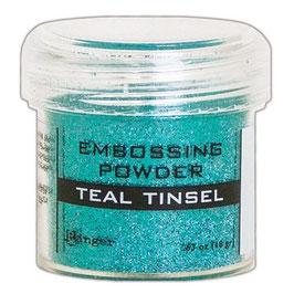 "Embossingpulver ""Teal Tinsel"" - Ranger"