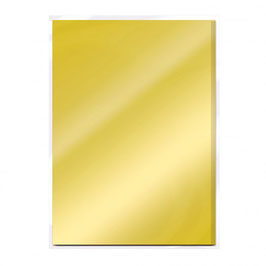 Polished Gold Gloss Mirror Card - Tonic Studios