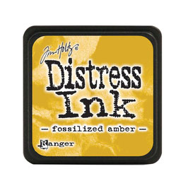 Tim Holtz Distress Mini Ink - Fossilized Amber