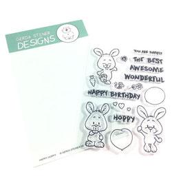 """Clearstampset """"Happy Hoppy"""" - Gerda Steiner Designs"""