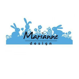 "Creatables ""Bunny Border"" - Marianne Design"