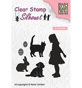 "Clearstamp ""Animal Lover"" - Nellies Choice"