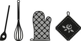 """Craftables """"Kitchen Set"""" - Marianne Design"""