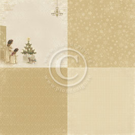 "The Night Before Christmas 6x6"", Just A Peek - Pion Design"