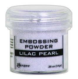 "Embossingpulver ""Lilac Pearl"" - Ranger"
