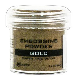 "Embossingpulver ""Super Fine Gold"" - Ranger"