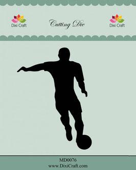 "Stanzschablone ""Football Player"" - Dixi Craft"