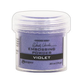 "Embossingpulver ""Violet"" - Ranger (Wendy Vecchi)"