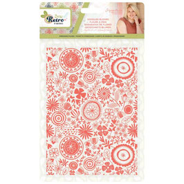 """Prägeschablone """"Sew Retro, Doodled Blooms"""" - Crafter's Companion"""