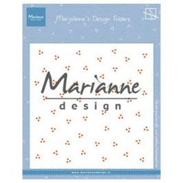 """Prägeschablone """"Marjoleine's Dots"""" - Marianne Design"""