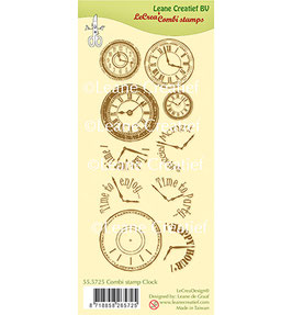 "Clearstampset ""Clock"" - LeCreaDesign"