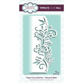 """Stanzschablone """"Papercuts Heavenly Bells Edger"""" - Creative Expressions"""