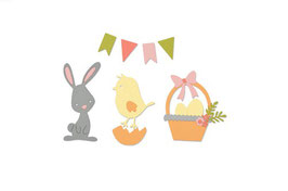 "Thinlits Die Set ""Easter"" - Sizzix"