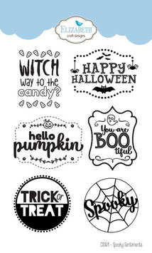 "Clearstampset ""Spooky Sentiments"" - Impronte d'Autore"